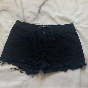 J BRAND cutoff shorts size 25